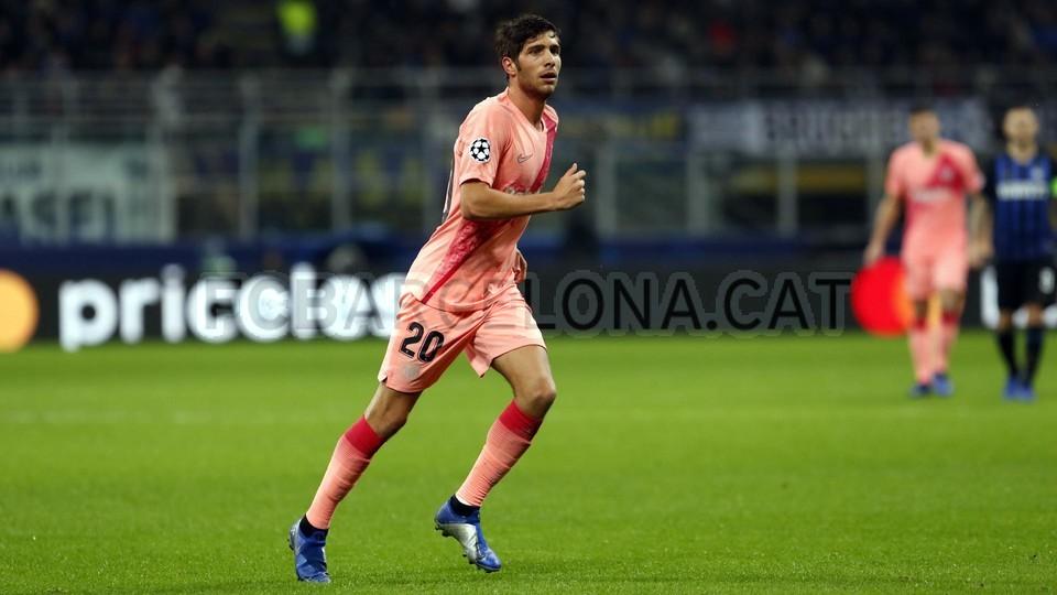 صور مباراة : إنتر ميلان - برشلونة 1-1 ( 06-11-2018 )  102164477