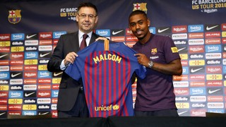 Malcom: 'I know it's a challenge, but this is a dream'