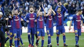 Reial Madrid 0 - FC Barcelona 3