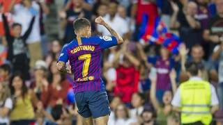 You can enjoy Messi's brace and Coutinho's strike in all their glory as the blaugranes open the 2018/19 league season with a win