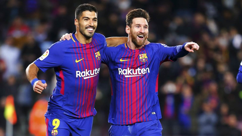 Messi And Suarez Are The Teams Top Two Goalscorers