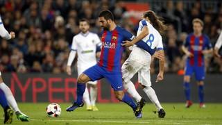 FC Barcelona 7 - Hércules 0