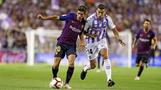 Valladolid 0 - FC Barcelona 1 (3 minuts)