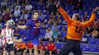 FC  Barcelona 34 - Puerto Sagunto 18 (Lliga ASOBAL)