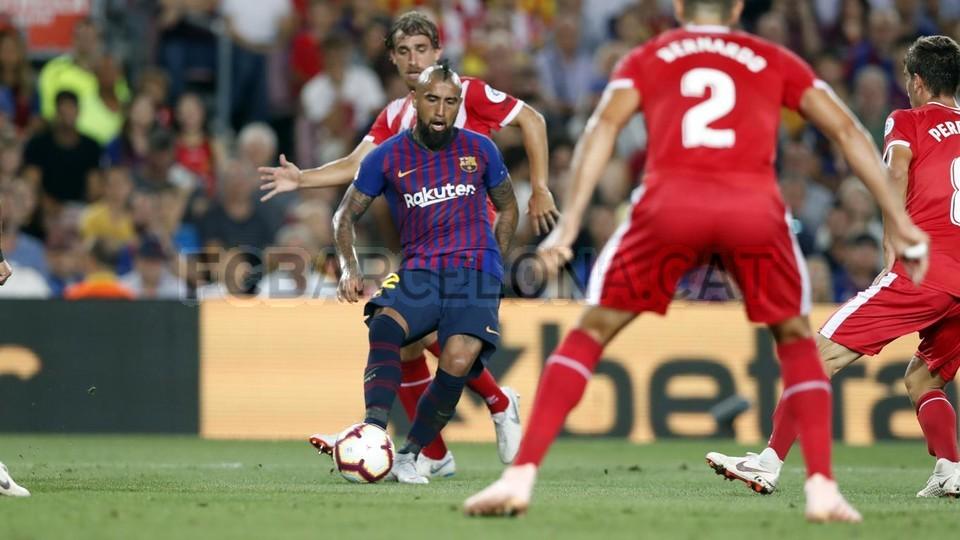 صور مباراة : برشلونة - جيرونا 2-2 ( 23-09-2018 )  99533851