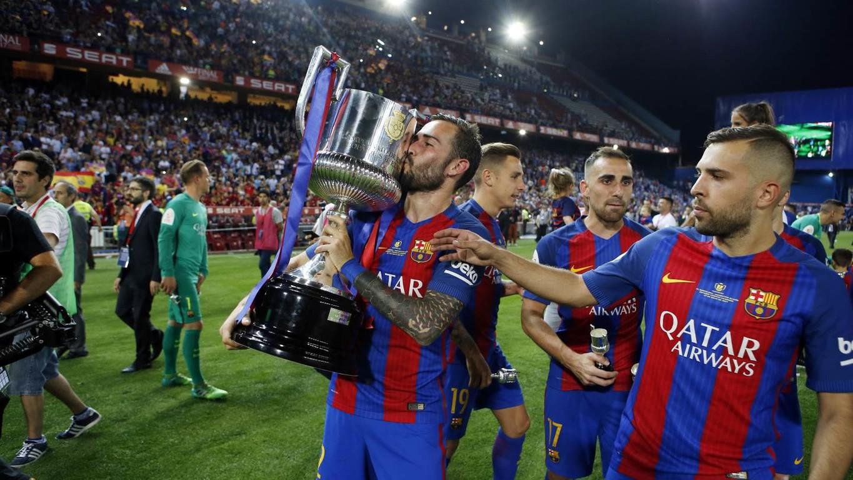 Le latéral droit du FC Barcelone nous fait vivre des moments exclusifs, en caméra embarquée