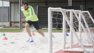 Aleix Vidal's hard work on the road to recovery