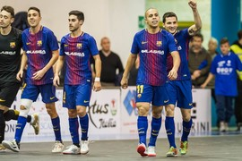FC Barcelona Lassa 3 - Pescara 1 (UEFA Futsal Cup)