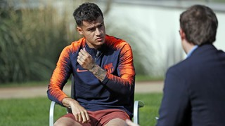 Coutinho: 'I came here to play these type of matches'
