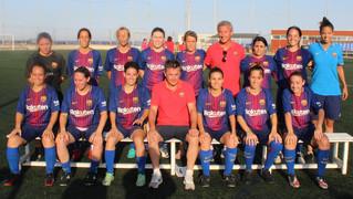 L'equip femení de l'Agrupació va arribar per segona vegada consecutiva a les semifinals del torneig de futbol 7 a Barcelona