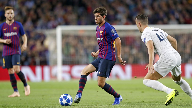 صور مباراة : برشلونة - إنتر ميلان 2-0 ( 24-10-2018 )  101520924