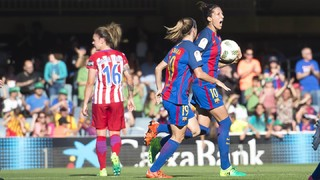 FC Barcelona 1 - At. Madrid 1 (Liga Femenina)
