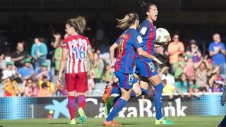 FC Barcelona 1 - At. Madrid 1 (Lliga Femenina)