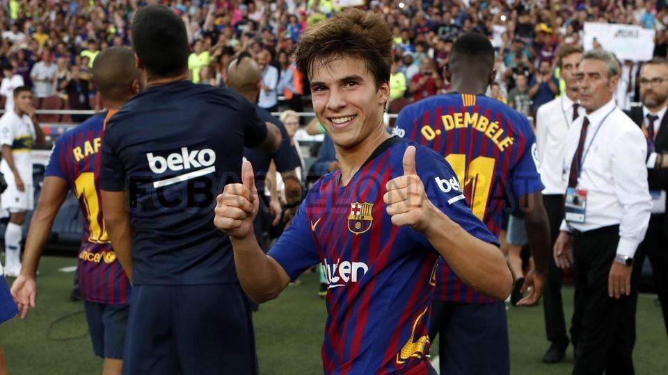 صور مباراة : برشلونة - بوكا جونيورز ( 16-08-2018 )  96023836