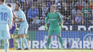 Ter Stegen: three saves secure three points against Leganés