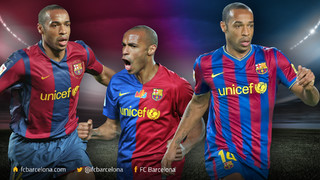 Ten years since the arrival of Thierry Henry at FC Barcelona