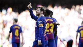 Against Athletic Club the Argentine scored Barça's second goal, and once again offered the full range of his offensive repertoire on the day he reached 500 goals with No.10 on his back