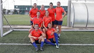 Les internacionals amb Espanya ja treballen a Barcelona