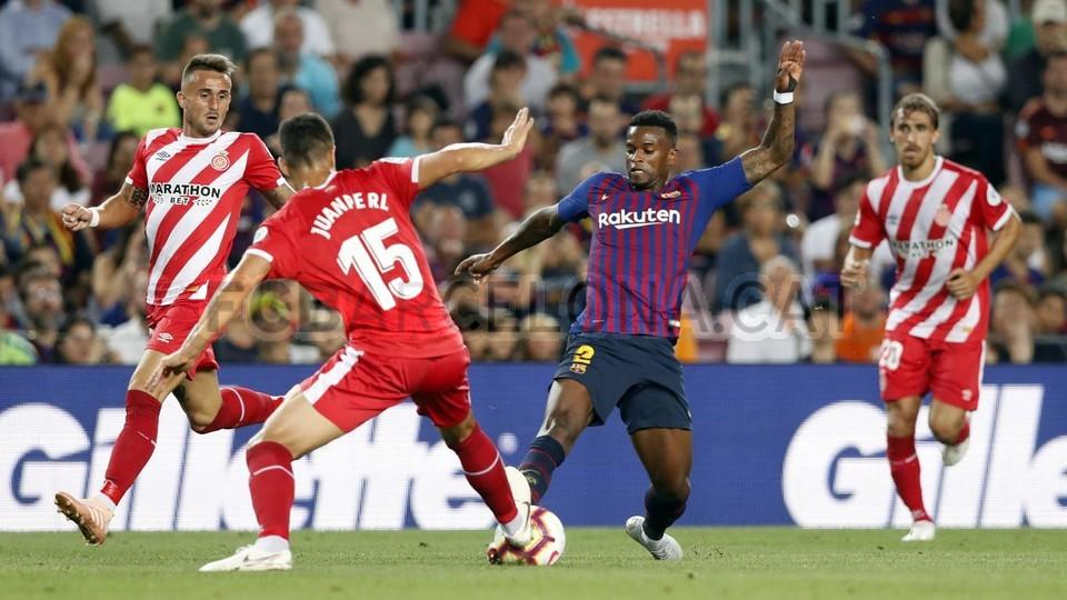 صور مباراة : برشلونة - جيرونا 2-2 ( 23-09-2018 )  99533827