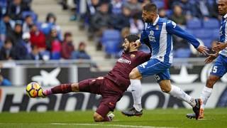 Espanyol 1 - FC Barcelona 1 (3 minutos)