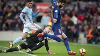FC Barcelona 2 - Celta 2 (3 minutos)