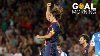 GOAL MORNING!! It's five years since this Carles Puyol goal!