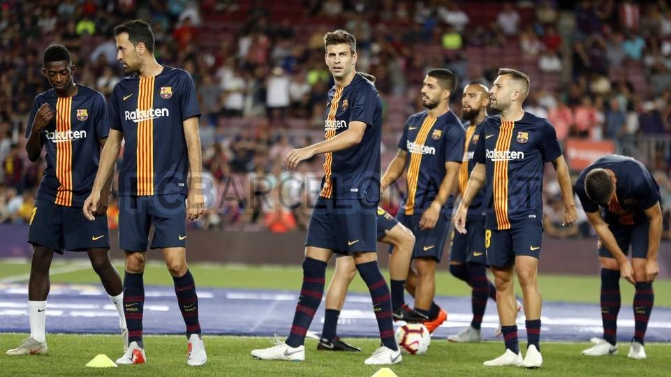 صور مباراة : برشلونة - جيرونا 2-2 ( 23-09-2018 )  99596574