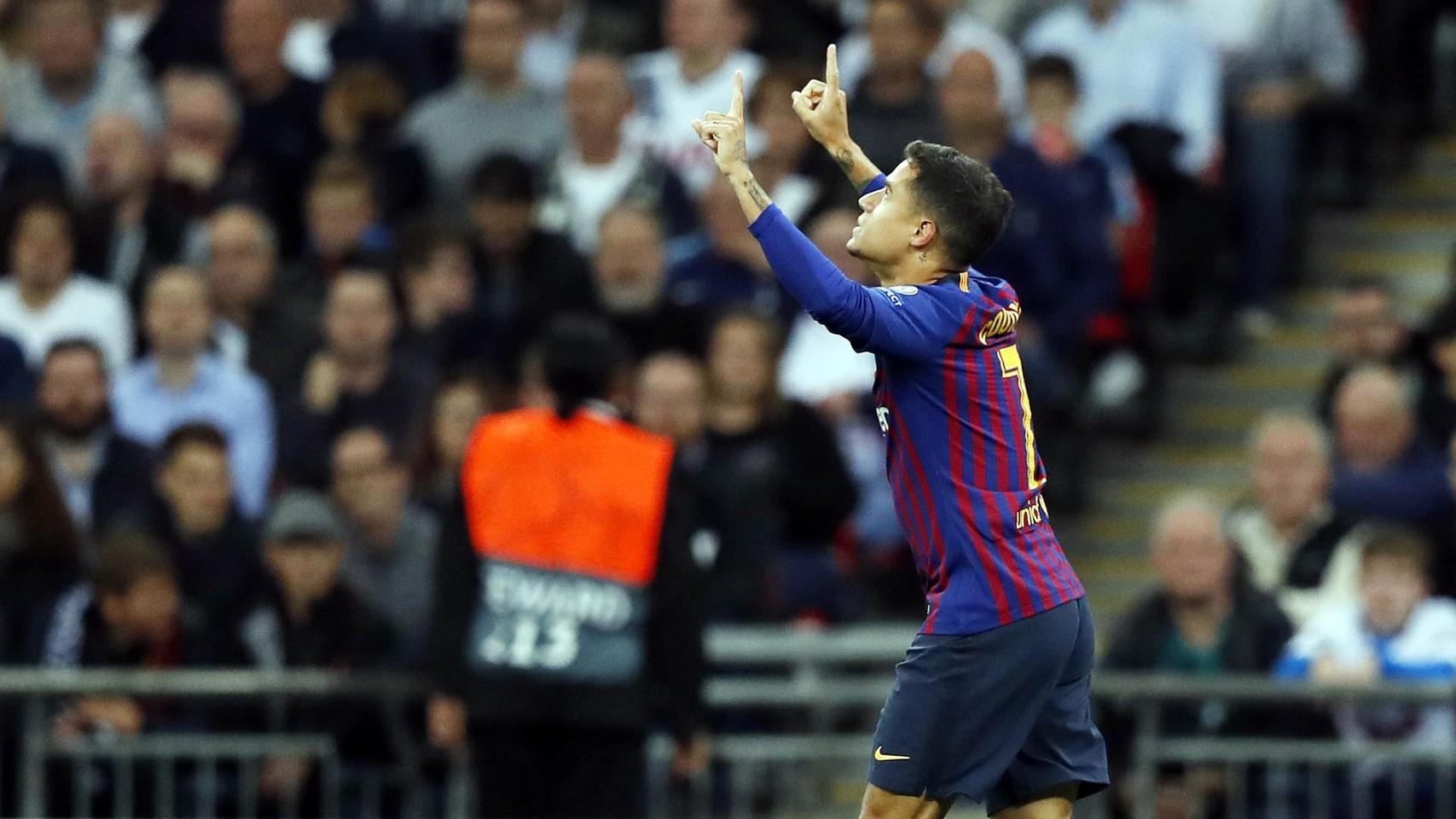 صور مباراة : توتنهام - برشلونة 2-4 ( 03-10-2018 )  100647966