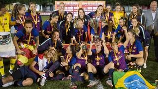 Barça Femenino - Espanyol: ¡Campeonas de Catalunya! (7-0)