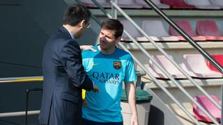 Bartomeu: 'Leo Messi's story at Barça continues'