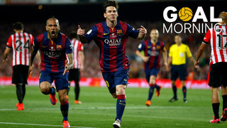 Goal Morning! It's 2 years today since this treasure from Leo Messi