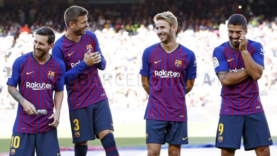 صور مباراة : برشلونة - بوكا جونيورز ( 16-08-2018 )  96024095
