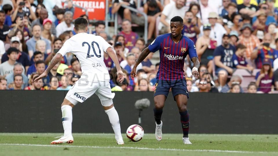 صور مباراة : برشلونة - بوكا جونيورز ( 16-08-2018 )  95974944