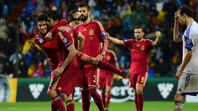 Image result for spain diego costa goal