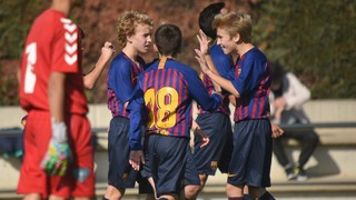 Un gol amb ADN Barça