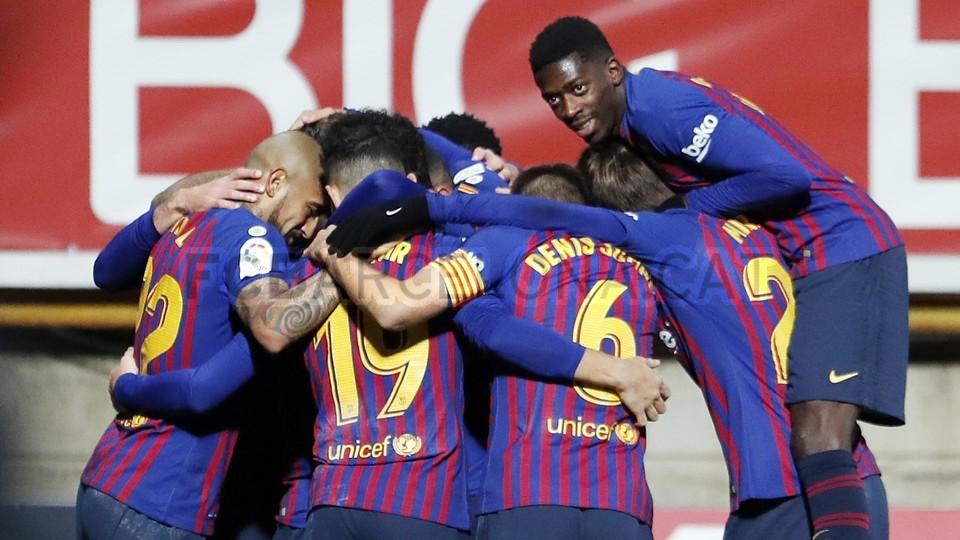 صور مباراة : كولتورال ليونيسا - برشلونة 0-1 ( 31-10-2018 ) كأس ملك إسبانيا 101944609