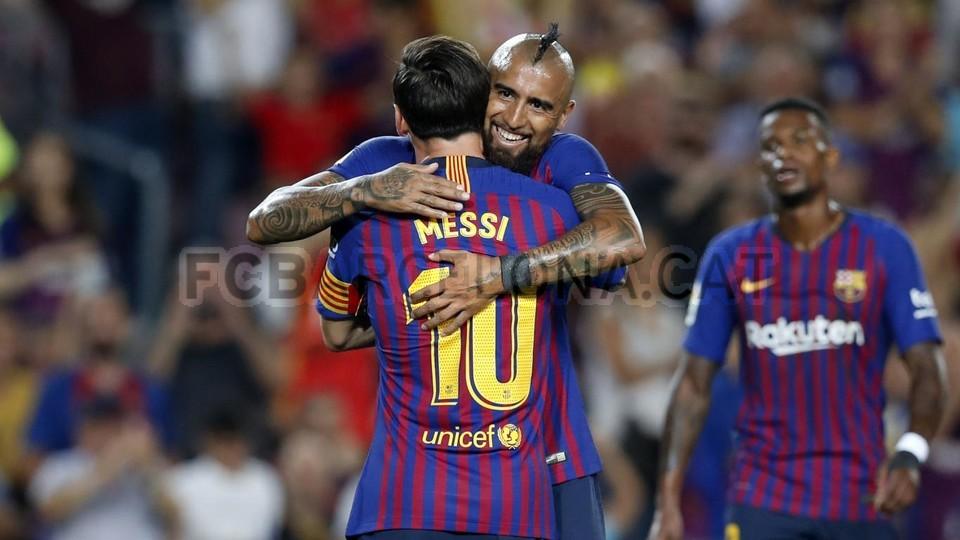 صور مباراة : برشلونة - جيرونا 2-2 ( 23-09-2018 )  99533857