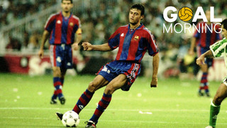 GOAL MORNING!!! We celebrate the birthday of LUIS ENRIQUE with this goal.