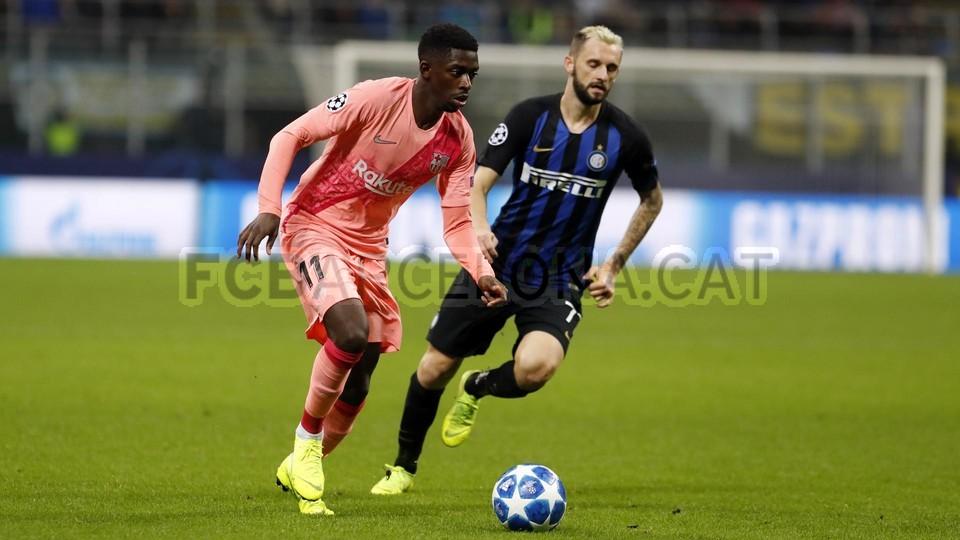 صور مباراة : إنتر ميلان - برشلونة 1-1 ( 06-11-2018 )  102164513