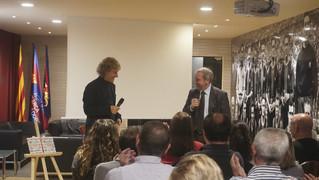 Miquel Pallarès i Josep Pons han encapçalat la presentació del llibre