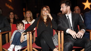Enjoy a selection of the best photographs from the Golden Shoe award ceremony where Leo Messi took the prize for top league goal scorer in Europe for 2016/17