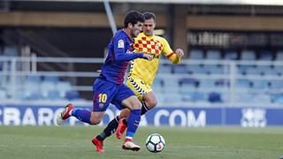 FC Barcelona B - Gimnàstic de Tarragona (1-1)