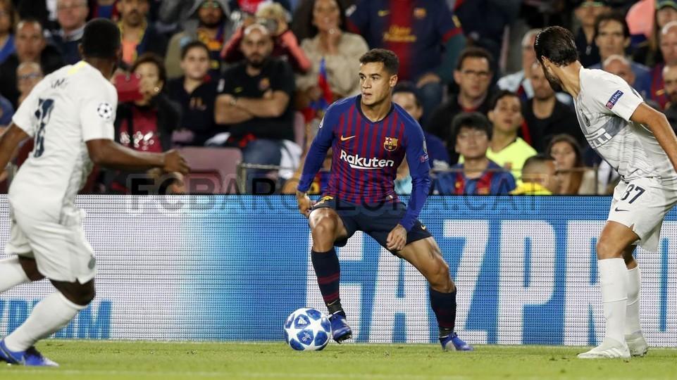 صور مباراة : برشلونة - إنتر ميلان 2-0 ( 24-10-2018 )  101520930