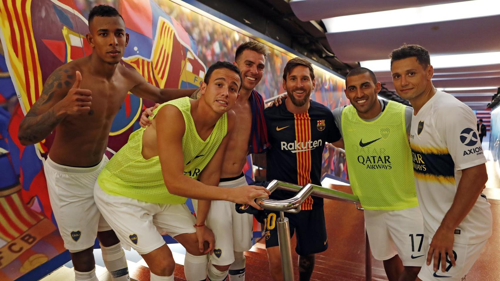 صور مباراة : برشلونة - بوكا جونيورز ( 16-08-2018 )  96023842