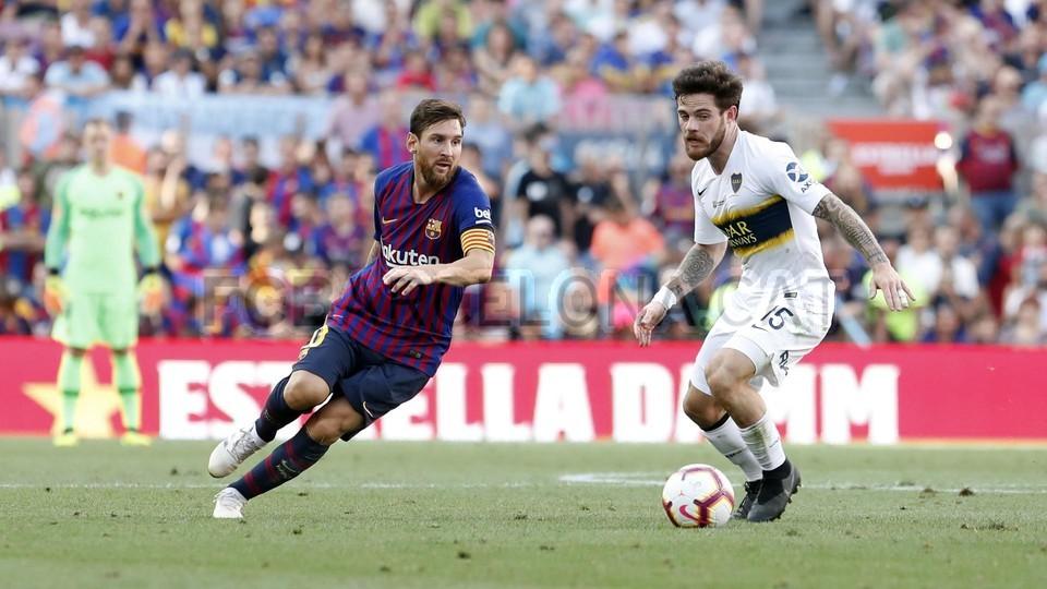 صور مباراة : برشلونة - بوكا جونيورز ( 16-08-2018 )  95974435