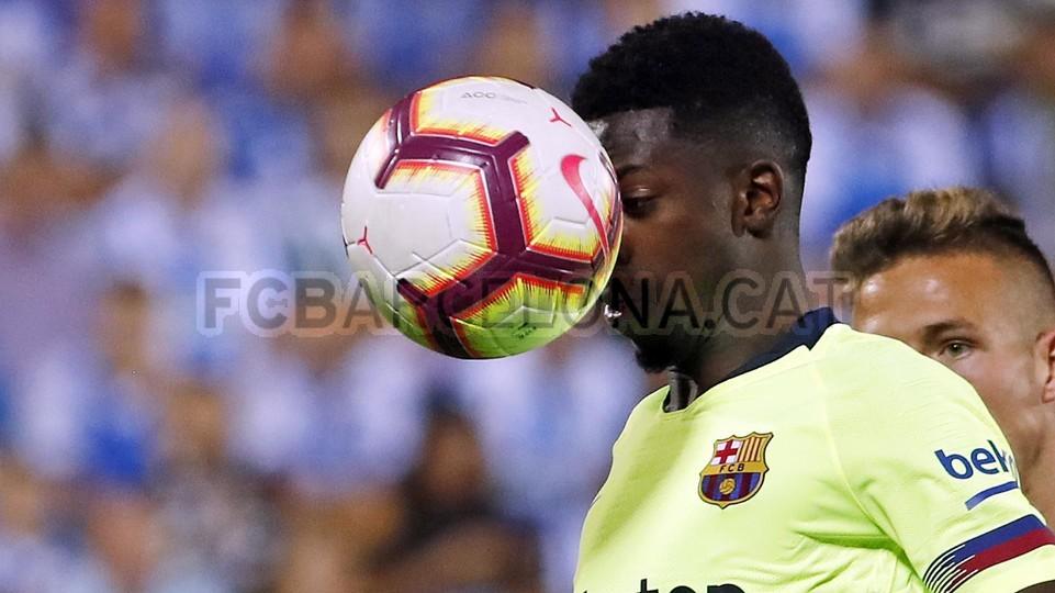 صور مباراة : ليغانيس - برشلونة 2-1 ( 26-09-2018 ) 99848483