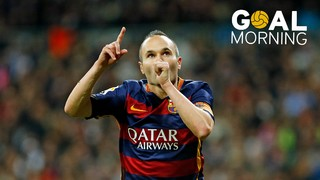 Goal Morning! Iniesta's masterpiece at the Bernabéu!