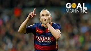 Goal Morning! Obra maestra de Iniesta en el Bernabéu!