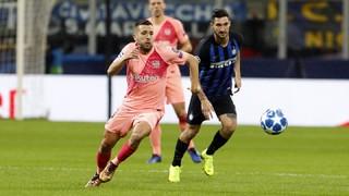 Inter Milan 1 - FC Barcelona 1 (3 minutes)