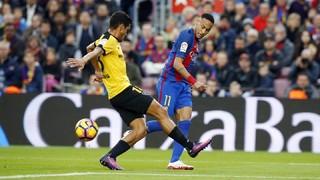 FC Barcelona 0 - Málaga 0 (3 minutes)